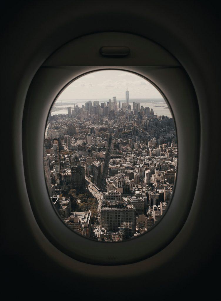Vliegtuig New York