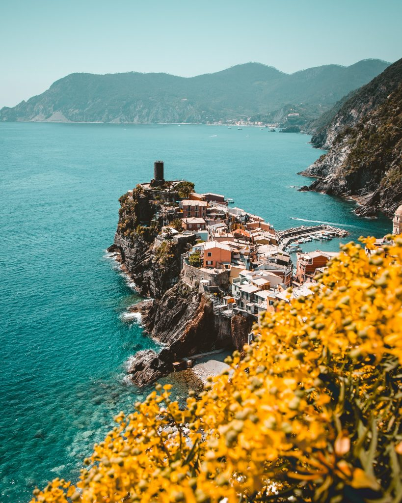 Zeilen in Italië